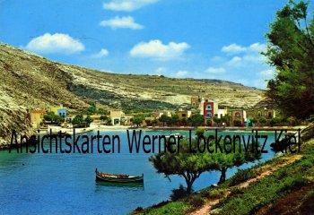 Ansichtskarte Malta Ortsansicht