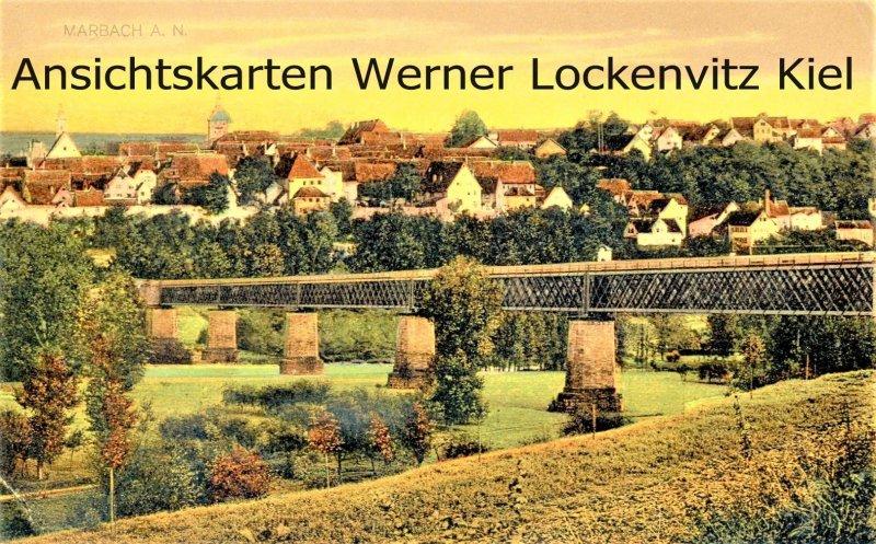 Ansichtskarte Marbach am Neckar Ortsansicht