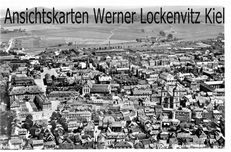 Ansichtskarte Fulda Ortsansicht Luftbild