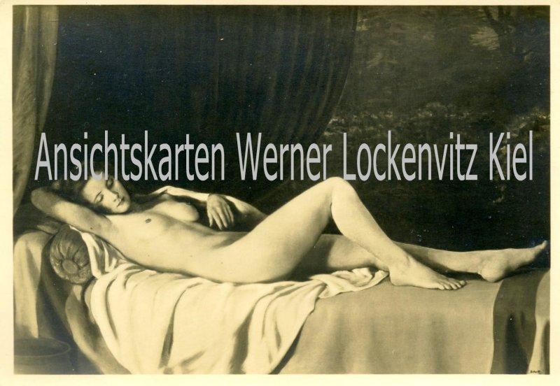 Ansichtskarte Haus der Deutschen Kunst HDK Nr. 410 Die Ruhende von Johann Schult