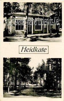 Ansichtskarte Wisch bei Kiel Heidkate Lebensmittel Meiereiprodukte Geschäft von Paul Buck