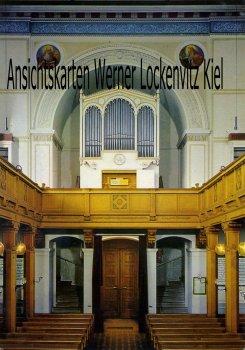 Ansichtskarte Berlin Wannsee Nikolskoe Orgel von St. Peter und Paul