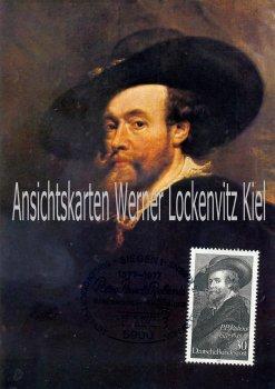 Maximumkarte Peter Paul Rubens Siegen