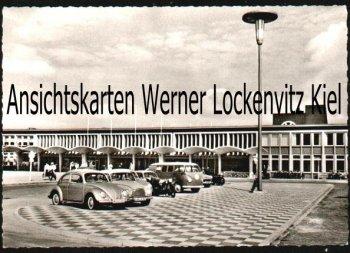 Ansichtskarte Wolfsburg Der Bahnhof