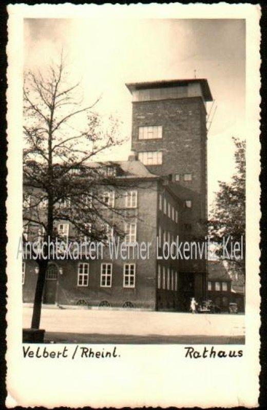 Ansichtskarte Rathaus in Velbert