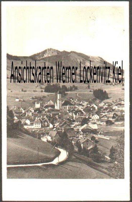 Ansichtskarte Ortsansicht von Nesselwang