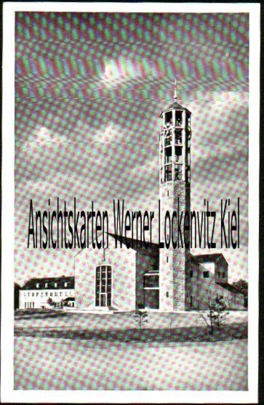 Ansichtskarte Wolfsburg Christuskirche