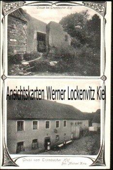 Ansichtskarte Bad Kreuznach Gruss vom Trombacher Hof Bes. Michael Korz und Clause