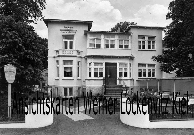 Ansichtskarte Scharbeutz Pension Haus an der See Bes. Willy Harnack