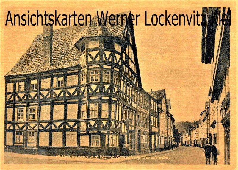 Ansichtskarte Witzenhausen Werra Ermschwerderstraße