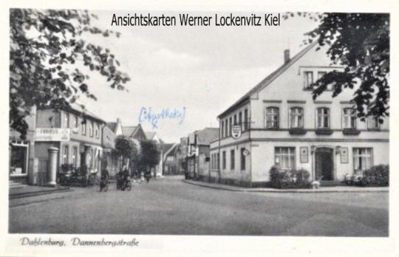 Ansichtskarte Dahlenburg Dannenbergstraße