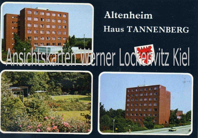 Ansichtskarte Kiel-Projensdorf Altenheim Haus Tannenberg