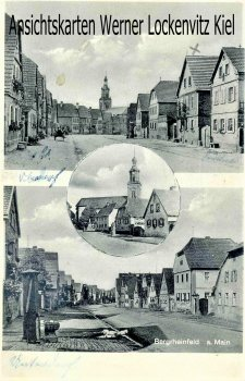 Ansichtskarte Straßenansichten von Bergrheinfeld Ufr.