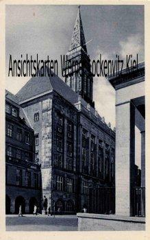 Ansichtskarte Rathaus in Kiel