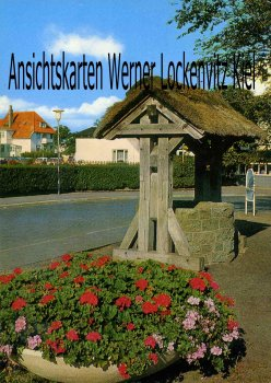 Ansichtskarte Cuxhaven-Duhnen Am Dorfbrunnen