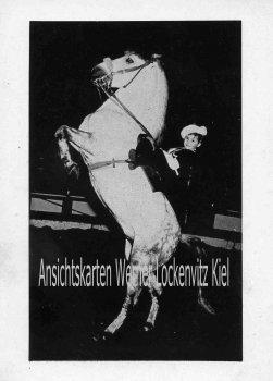 Ansichtskarte Micha Kaiser Europas jüngste Kunstreiterin Zirkus