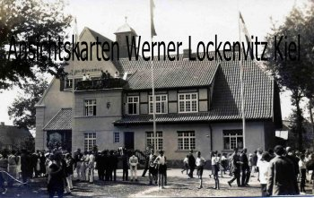 Ansichtskarte Lanz Lenzen-Elbtalaue Prignitz Erinnerung an die Jahnfeier 1928