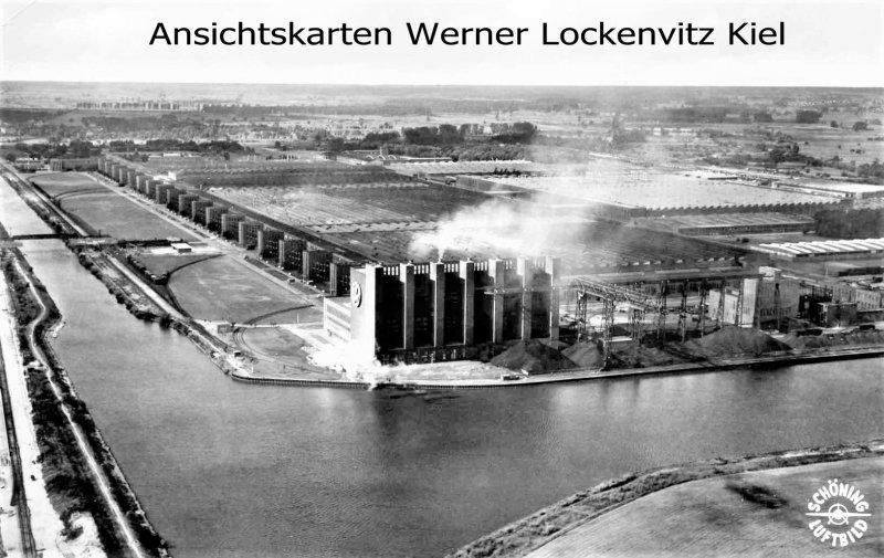 Ansichtskarte Wolfsburg Volkswagen-Werk Luftbild