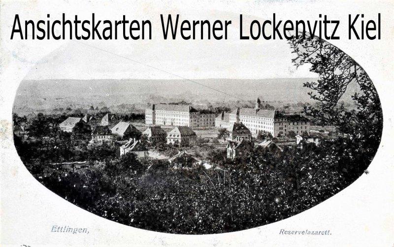 Ansichtskarte Ettlingen Reservelazarett