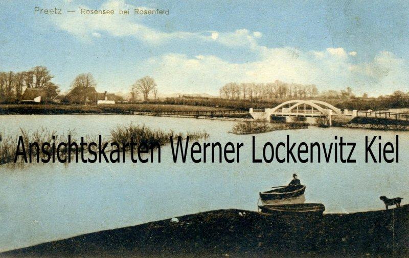 Ansichtskarte Schwentinental Raisdorf Preetz Rosensee bei Rosenfeld