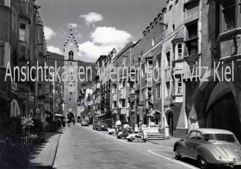 Ansichtskarte Cartolina Postale Italien Italia Vipiteno Sterzing Neustadt mit DKW Südtirol