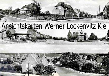 Ansichtskarte Eckernförde Kreuzung Auf der Höhe Domstag Sehestedter Straße