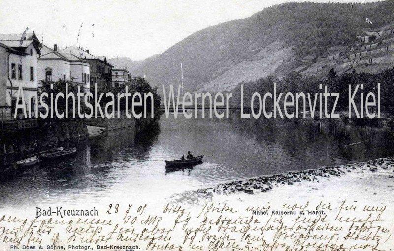 Ansichtskarte Bad Kreuznach Nahe Kaiserau und Hardt