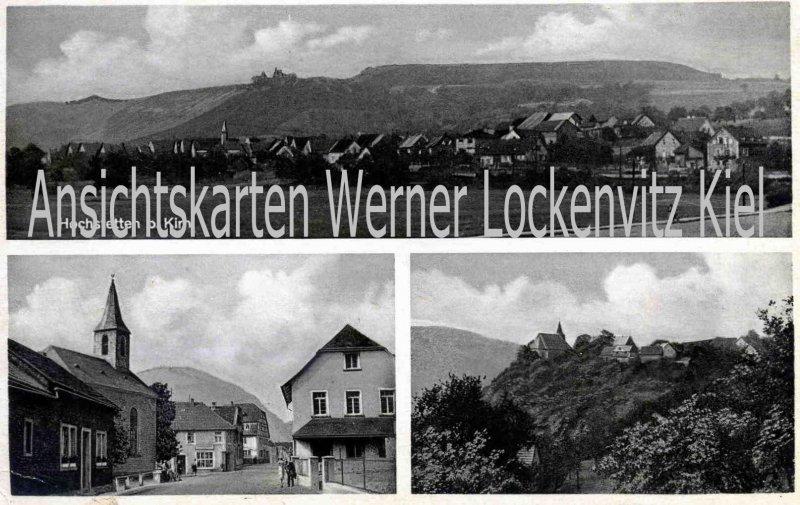 Ansichtskarte Hochstetten-Dhaun Ortsansicht Ortsstraße Burg