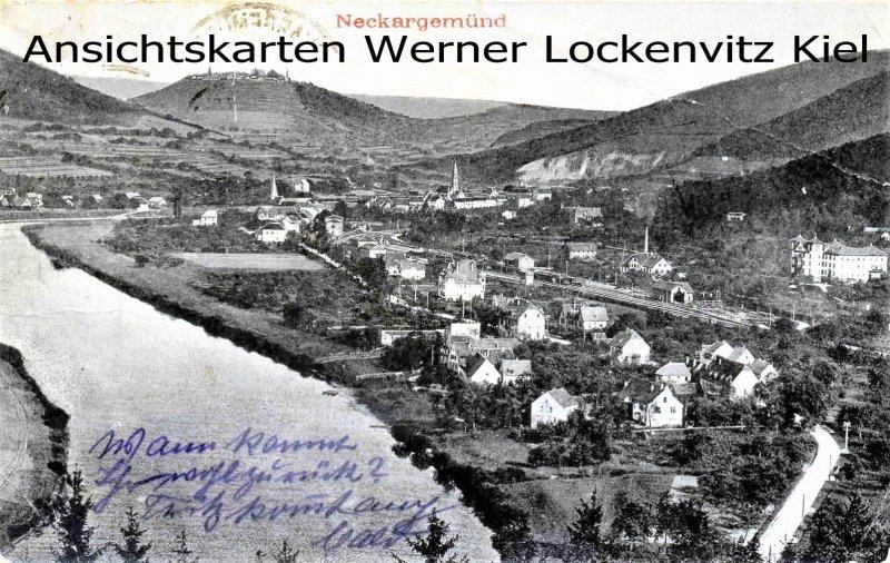 Ansichtskarte Ortsansicht von Neckargemünd