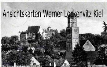 Ansichtskarte Illertissen Schloß mit Martinuskirche Feldpost