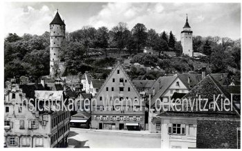 Ansichtskarte Biberach an der Riß Kapellenplatz
