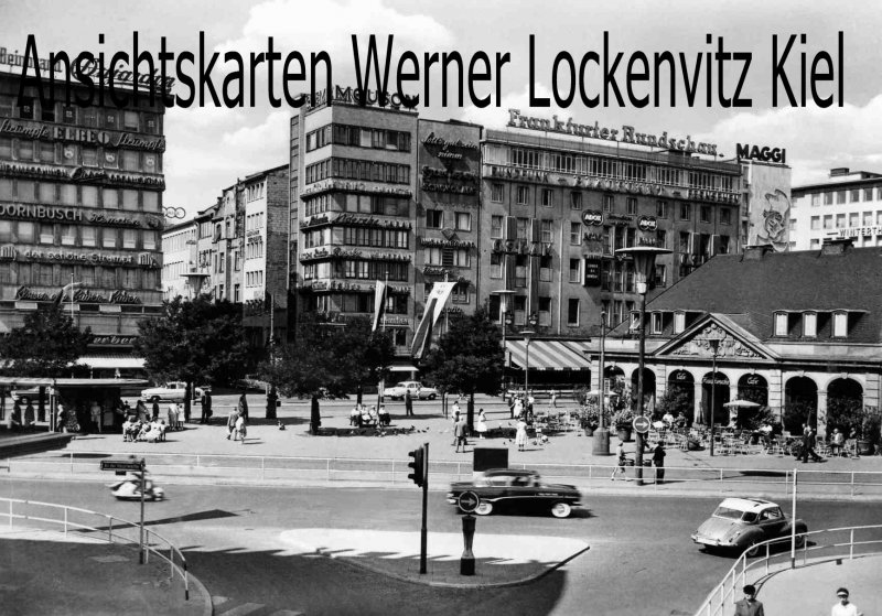 Ansichtskarte Frankfurt am Main An der Hauptwache