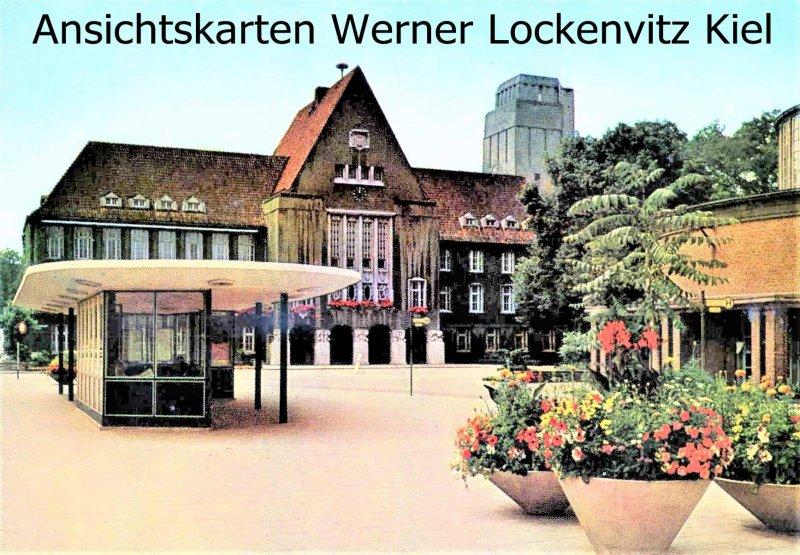 Ansichtskarte Delmenhorst Rathaus
