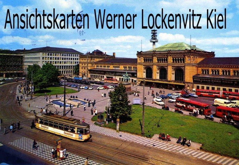 Ansichtskarte Ernst-August-Platz und Hauptbahnhof in Hannover
