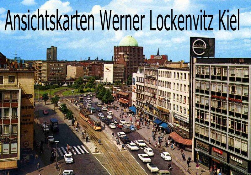 Ansichtskarte Georgstraße in Hannover