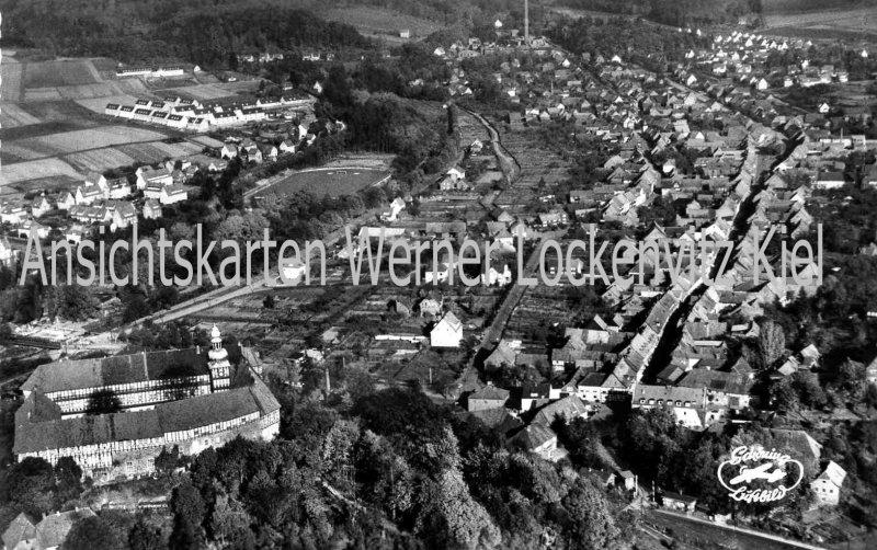 Ansichtskarte Ortsansicht Luftbild von Herzberg