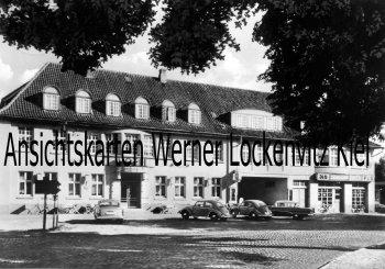 Ansichtskarte Rotenburg Wümme Hotel Lüneburger Hof Inh. Wilhelm Stelling Zündapp NSU