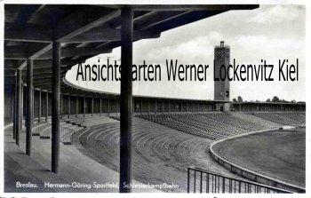 Ansichtskarte Polen Breslau Wroclaw Hermann-Göring-Sportfeld