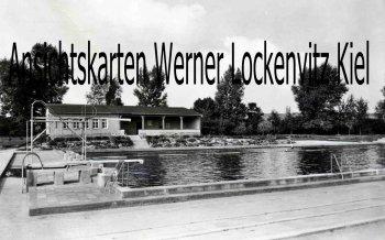 Ansichtskarte Kölleda Thüringen Schwimmbad