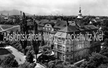 Ansichtskarte Rosenheim Loretokrankenhaus