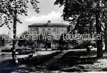 Ansichtskarte Limbach-Oberfrohna Goetheschule