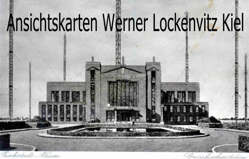 Ansichtskarte Nauen Grossfunkenstation