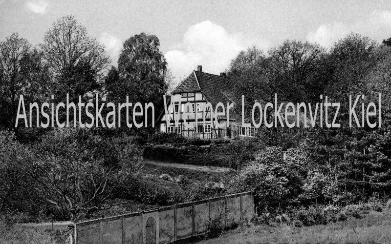 Ansichtskarte Hitzacker Pension Klötzehof Inh. Fr. Giersdorf