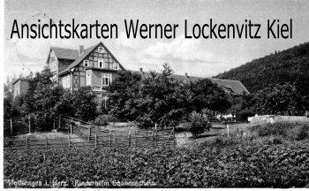 Ansichtskarte Langelsheim-Wolfshagen Harz Kinderheim Sonnenschein