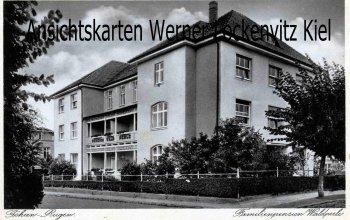 Ansichtskarte Göhren auf Rügen Familienpension Waldperle mit Haus Elise Leiterin M. Reuter