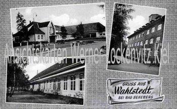 Ansichtskarte Wahlstedt Erle ZF Damenmantelfabrik Erlhoff