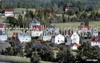 Ansichtskarte Ortansicht von Bischofsgrün im Fichtelgebirge