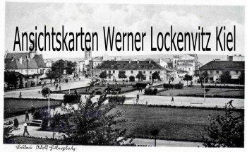 Ansichtskarte Polen Włocławek Leslau Adolf Hitlerplatz Feldpost