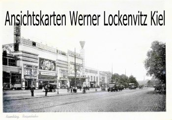Ansichtskarte Reeperbahn mit Kino Schauburg in Hamburg-St. Pauli