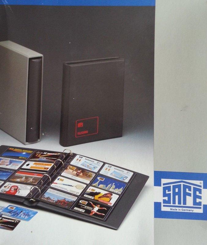 Safe Telefonkarten-Album